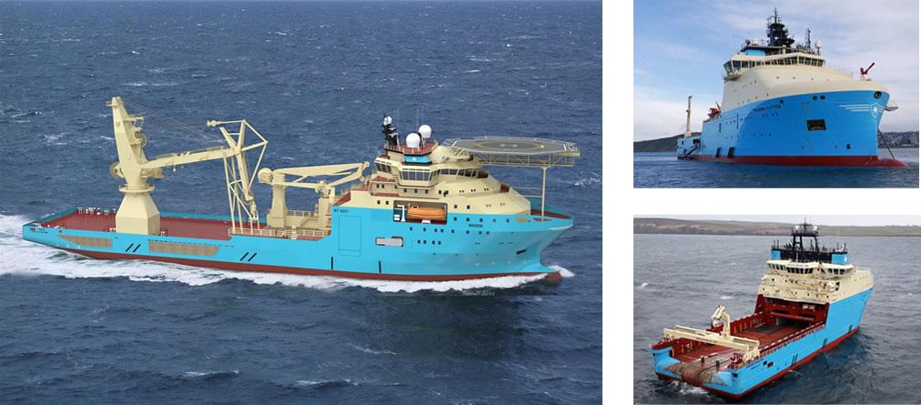 Maersk Supply Service Aterriza