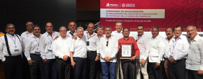 40 aniversario del inicio de la explotación de petróleo en la sonda de Campeche